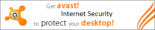 Get avast! Internet Security to protect your computer!